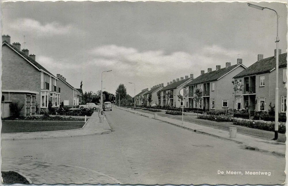 Ansichtkaart Meentweg a