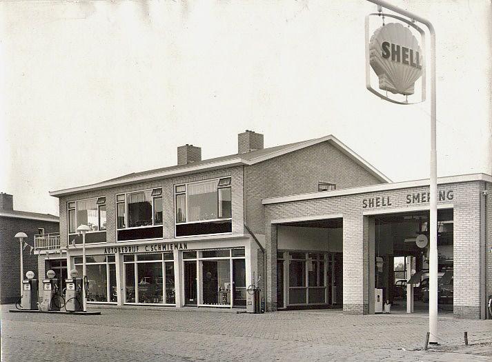 Foto Shell Castellumlaan 1962