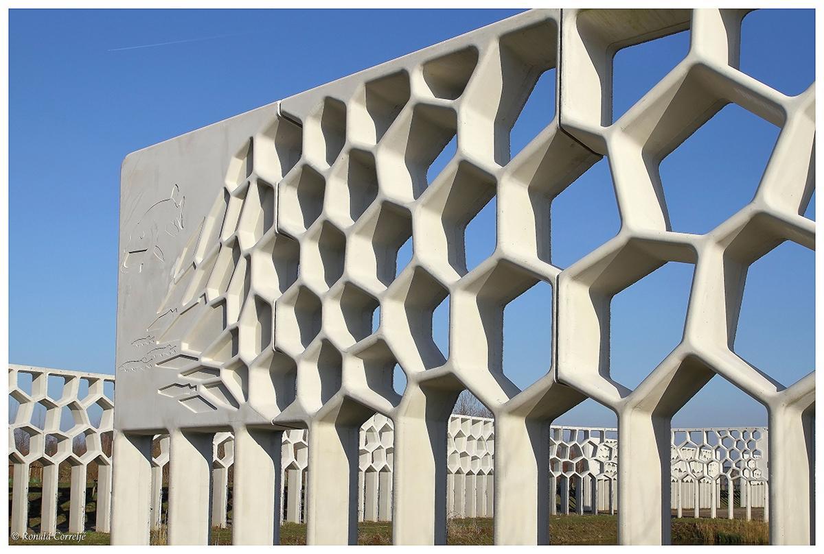 Pergola van beton