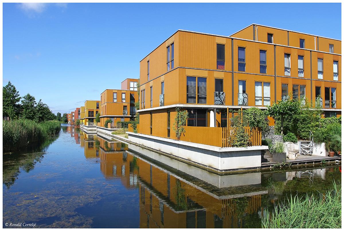Woningen aan het water
