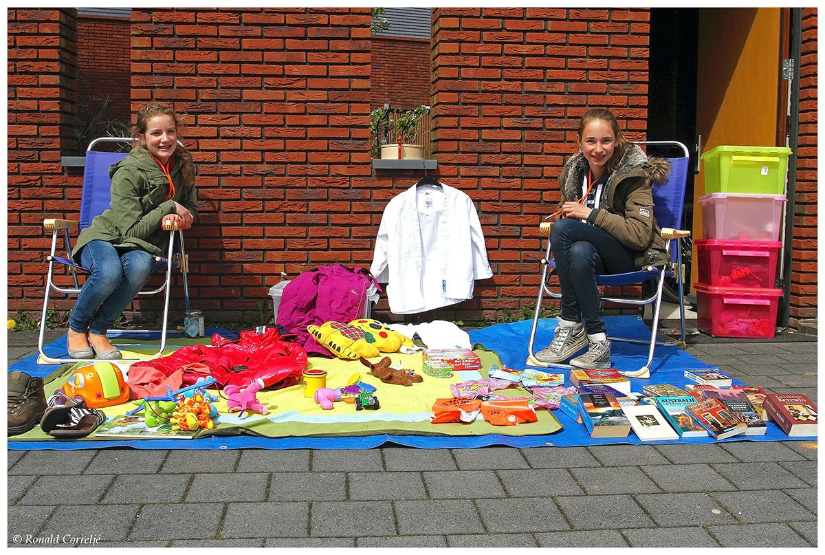Kleedjesmarkt Leidsche Rijn