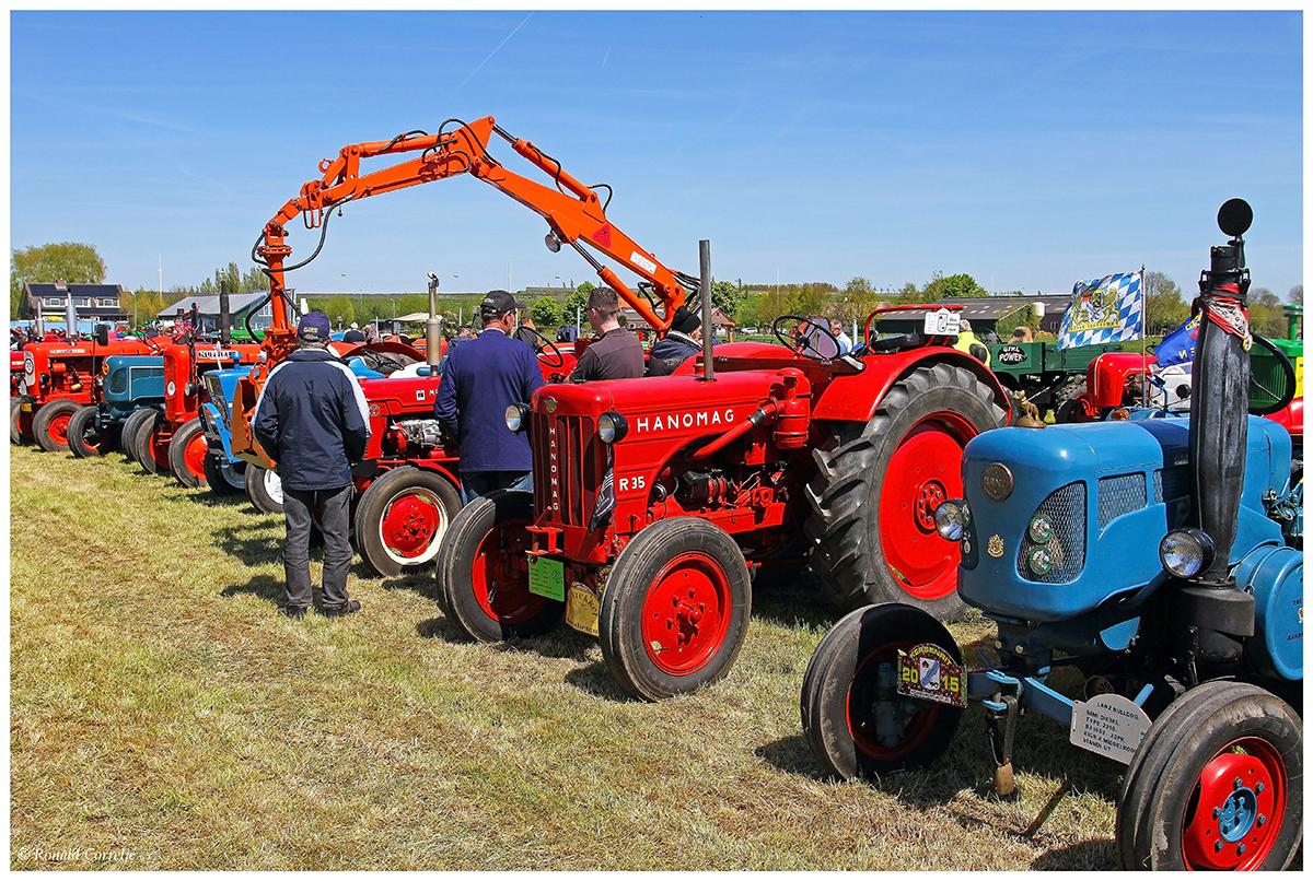 oude tractoren