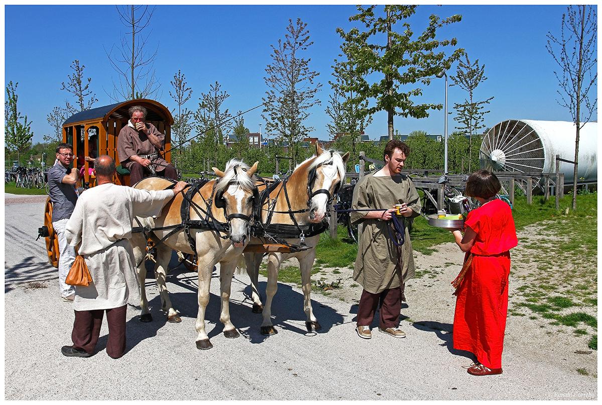 Romeinse paardenkoets