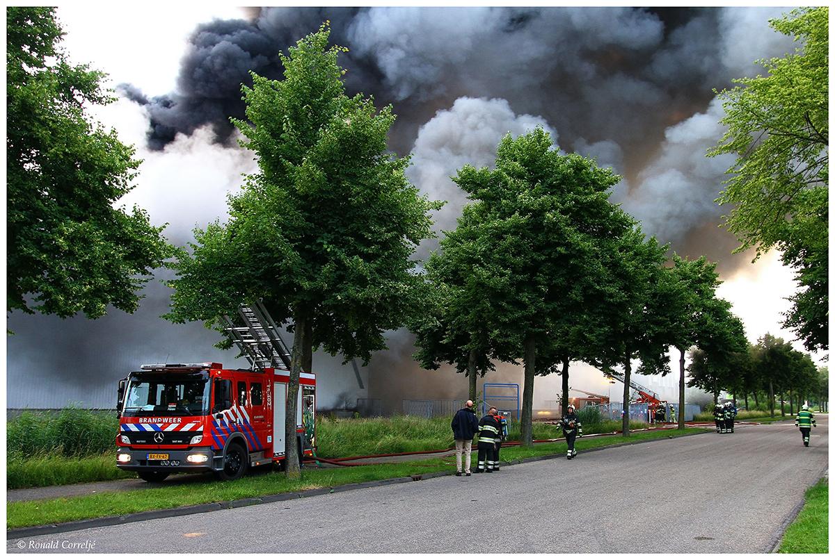 brand en rookontwikkeling