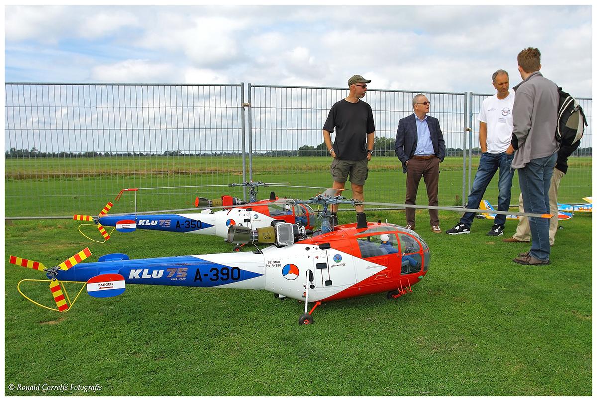 Helikopter modelvliegtuigen