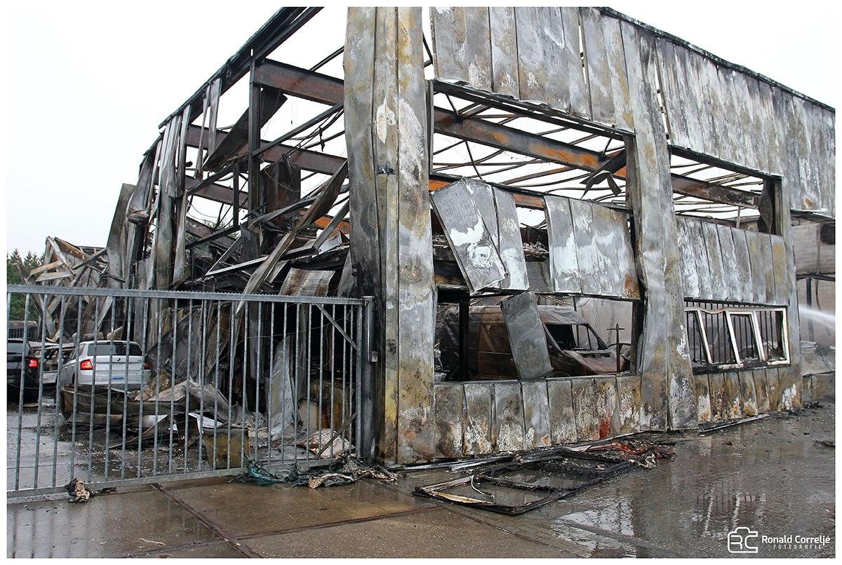 Brandschade bedrijfsgebouw