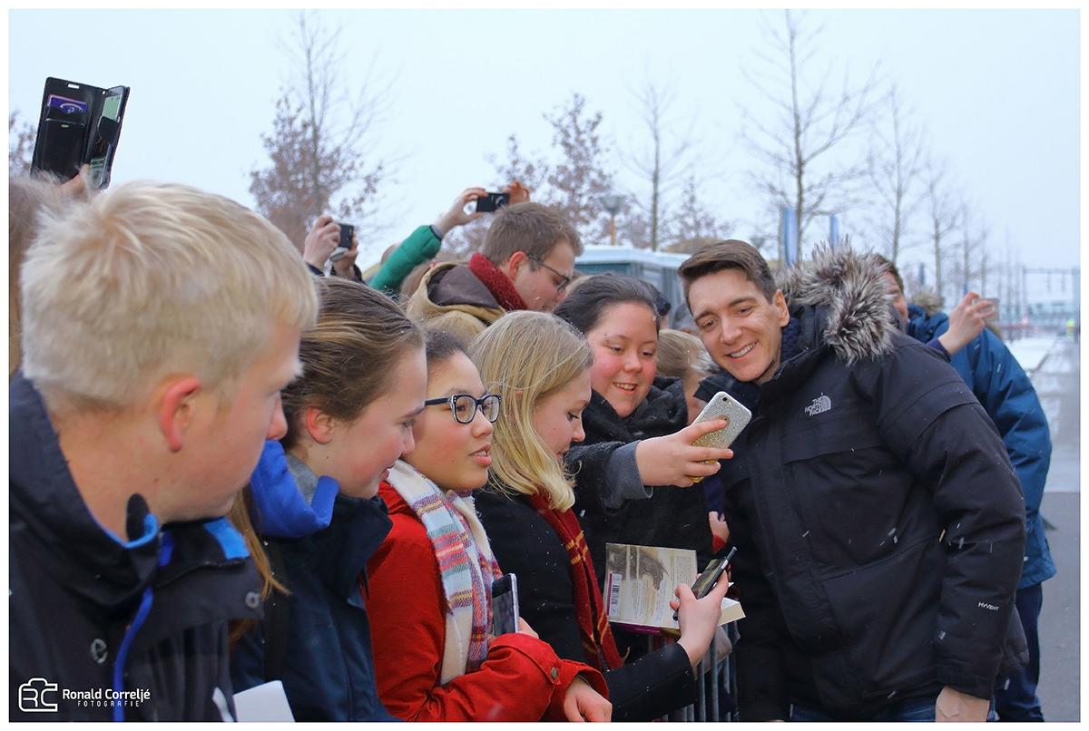 Selfie met Harry Potterfans