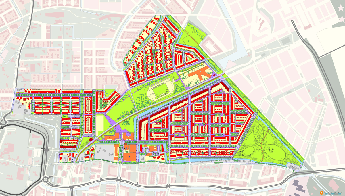 Plattegrond Parkwijk