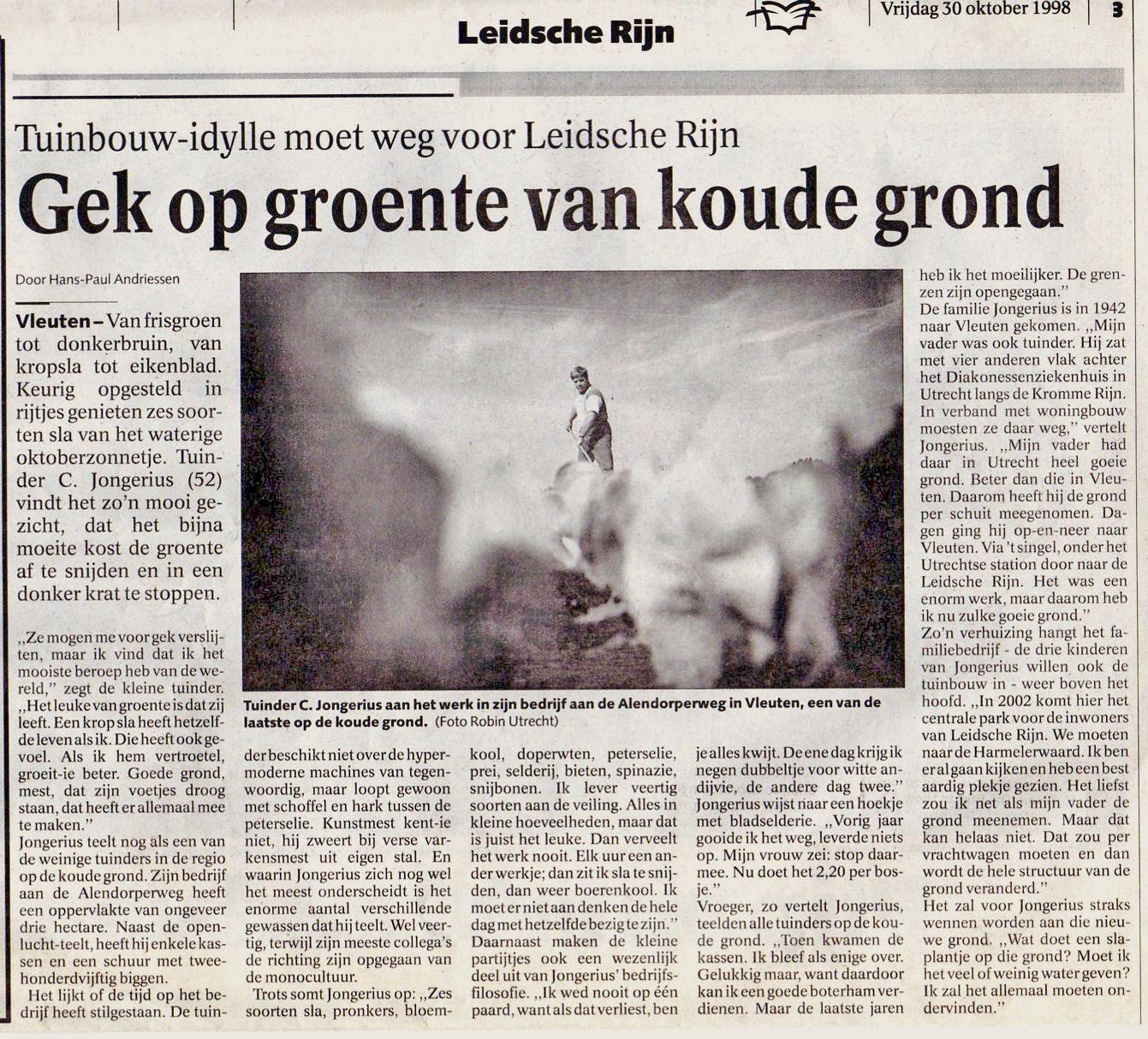 artikel utrechts nieuwsblad 1998108 (1)