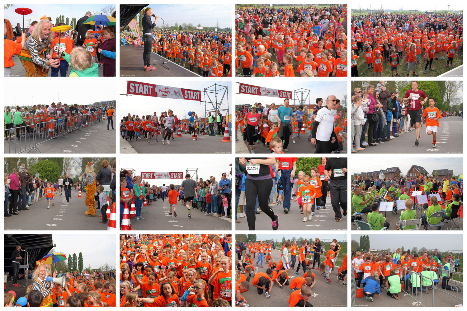 Collage LintWurmpie Run 2014