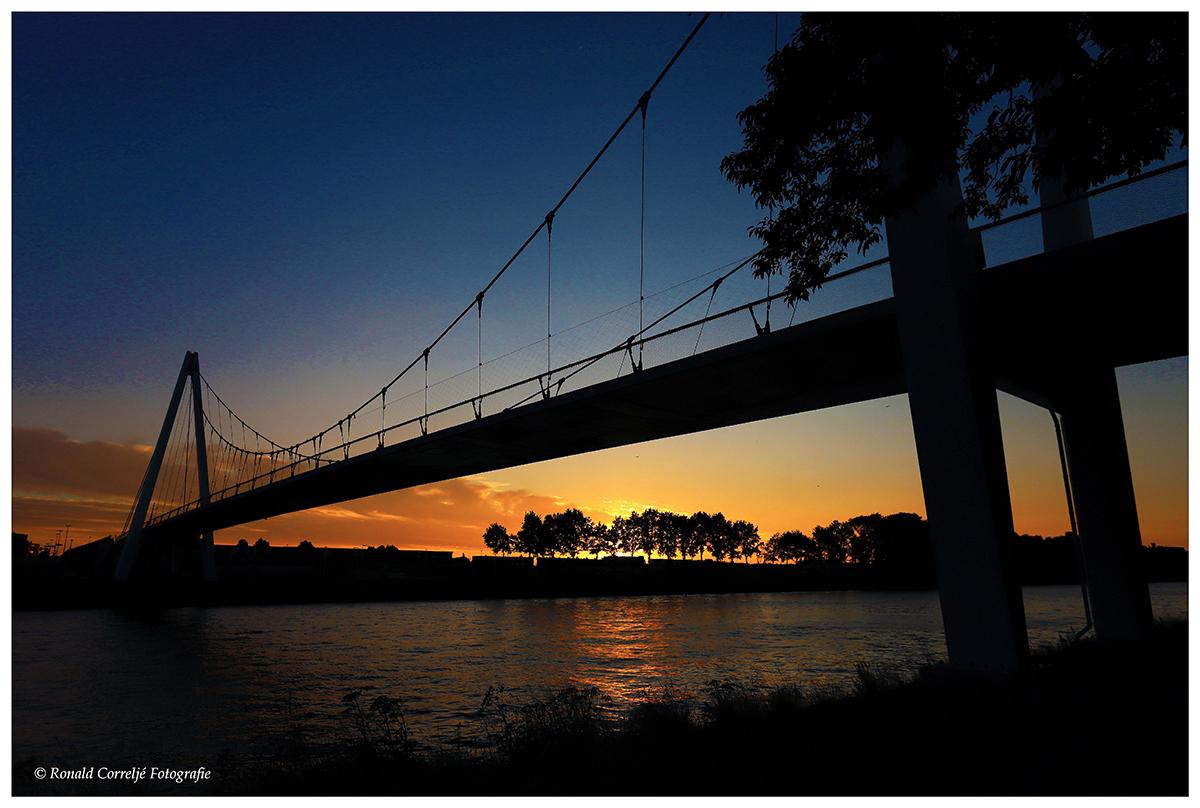 Zonsondergang Dafne Schippersbrug