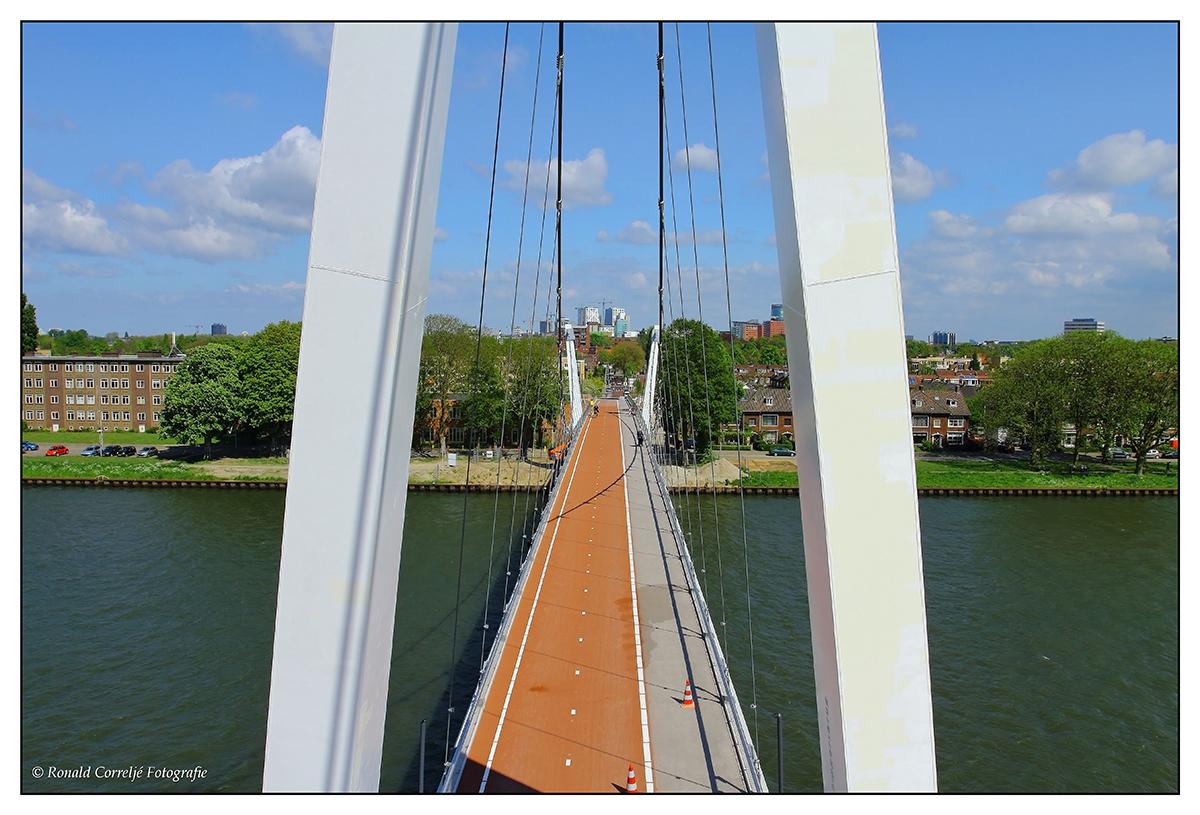 In aanbouw zijnde Dafne Schippersbrug Utrecht