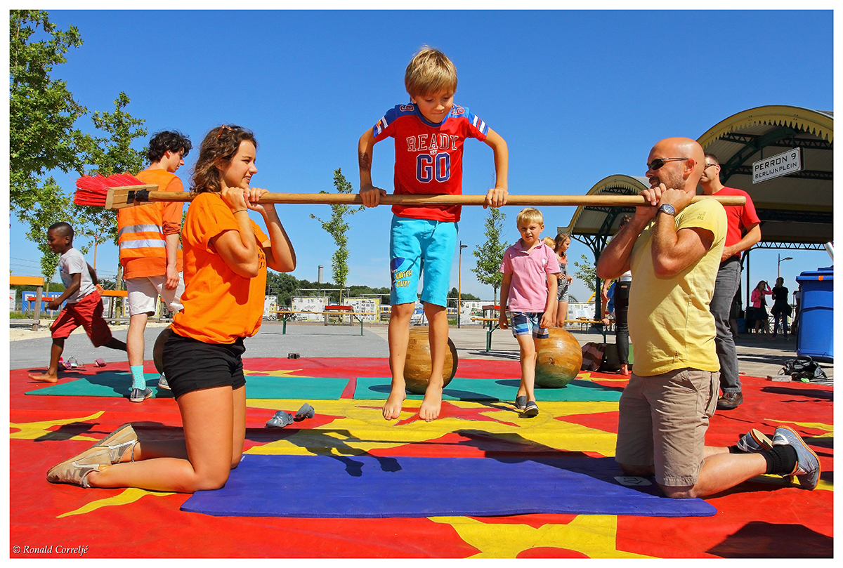 kinderspel straatfestival