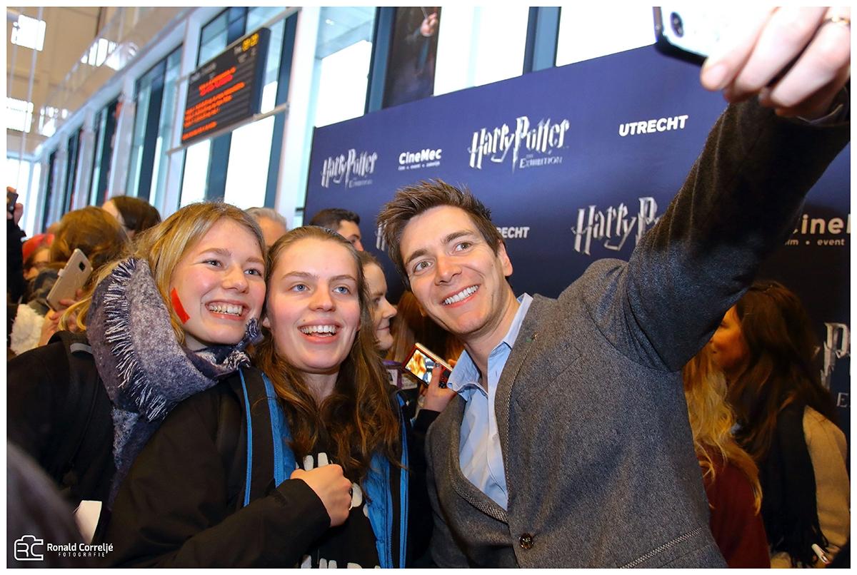Selfie met Harry Potter acteur