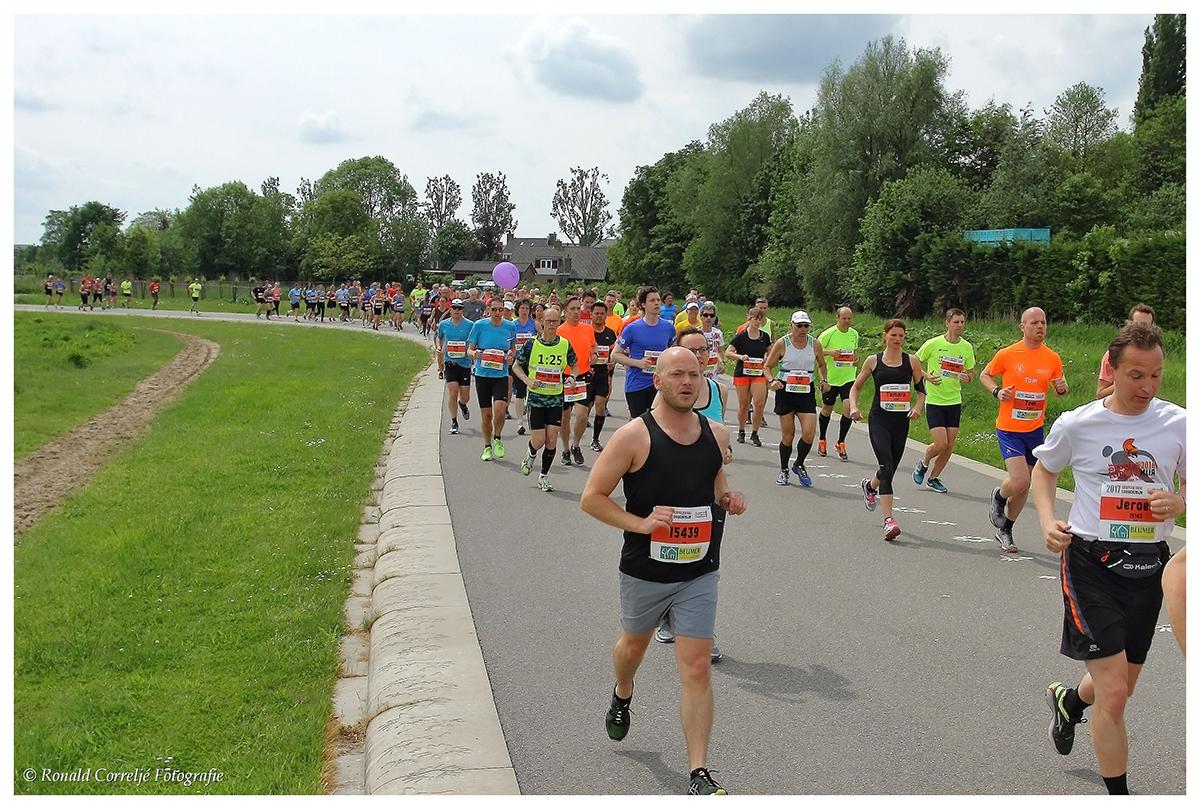 deelnemershardloopwedstrijd