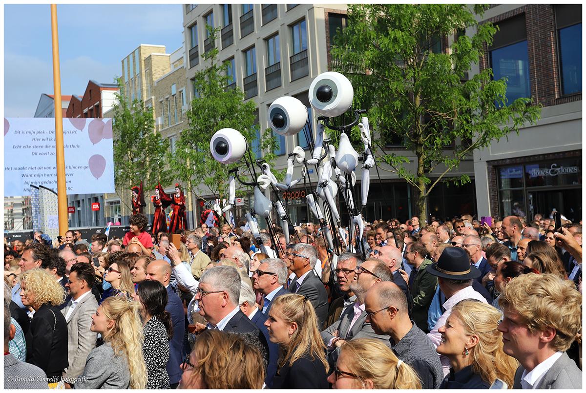 Opening winkelcentrum Leidsche Rijn