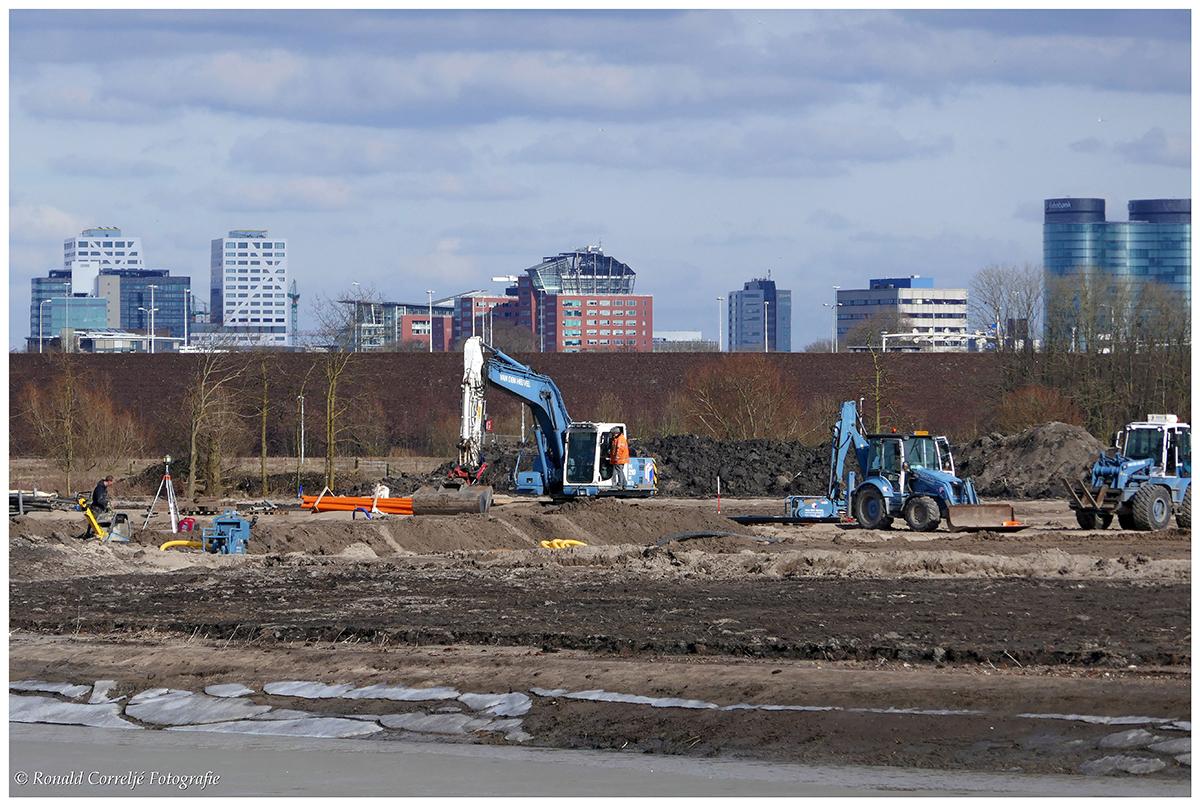 Bouwrijp maken wijk Rijnvliet Utrecht